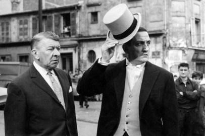 Robert Dalban et Lino Ventura dans Les Tontons Flingueurs (1963)