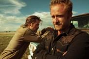 Ben Foster et Chris Pine dans Comancheria (2016)