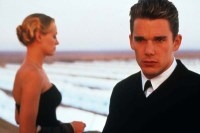 Ethan Hawke et Uma Thurman dans Bienvenue à Gattaca (1997)