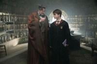 Jim Broadbent et Daniel Radcliffe dans Harry Potter et le prince de sang-mêlé (2009)
