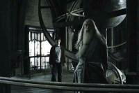 Michael Gambon et Daniel Radcliffe dans Harry Potter et le prince de sang-mêlé (2009)