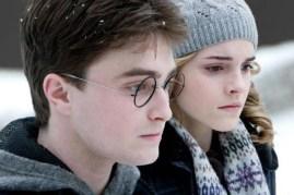 Daniel Radcliffe et Emma Watson dans Harry Potter et le prince de sang-mêlé (2009)