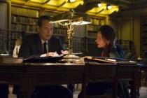 Tom Hanks et Sidse Babett Knudsen dans Inferno (2016)