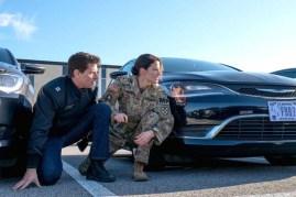 Tom Cruise et Cobie Smulders dans Jack Reacher: Never Go Back (2016)