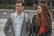 Joseph Gordon-Levitt et Shailene Woodley dans Snowden (2016)