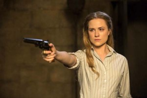 Evan Rachel Wood dans Westworld (2016)