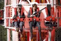 Abigail Breslin et Emma Stone dans Bienvenue à Zombieland (2009)