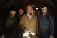 Jason Statham, Alki David, James Faulkner, Daniel Mays, et Stephen Campbell Moore dans Braquage à l'anglaise (2008)