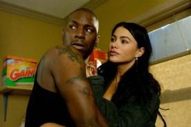 Sofía Vergara et Tyrese Gibson dans Quatre frères (2005)