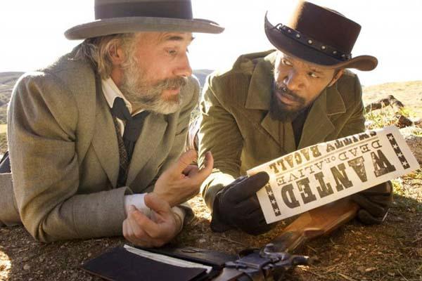 Jamie Foxx et Christoph Waltz dans Django Unchained (2012)