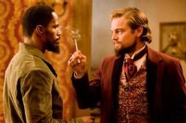 Leonardo DiCaprio et Jamie Foxx dans Django Unchained (2012)