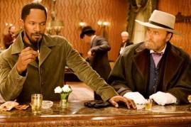 Jamie Foxx et Franco Nero dans Django Unchained (2012)