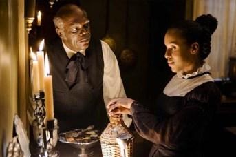 Samuel L. Jackson et Kerry Washington dans Django Unchained (2012)