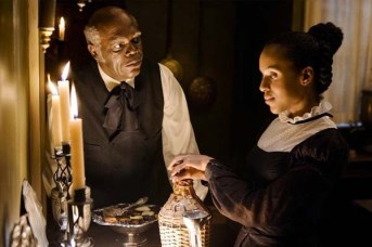 Samuel L. Jackson et Kerry Washington dans Django Unchained (2012)