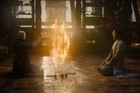 Tilda Swinton et Benedict Cumberbatch dans Doctor Strange (2016)