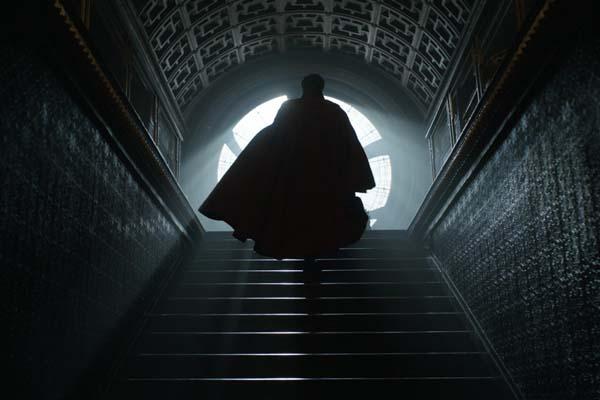 Benedict Cumberbatch dans Doctor Strange (2016)