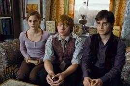 Rupert Grint, Daniel Radcliffe, et Emma Watson dans Harry Potter et les reliques de la mort: 1ère partie (2010)