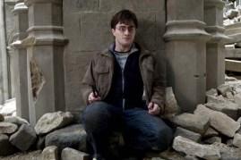 Daniel Radcliffe dans Harry Potter et les reliques de la mort: 2ème partie (2011)