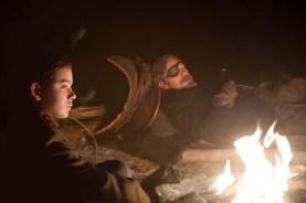 Jeff Bridges et Hailee Steinfeld dans True Grit (2010)