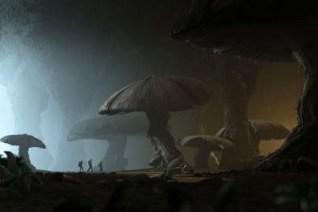 Brendan Fraser, Josh Hutcherson, et Anita Briem dans Voyage au Centre de la Terre (2008)