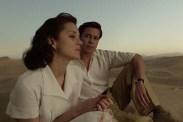 Brad Pitt et Marion Cotillard dans Allied (2016)