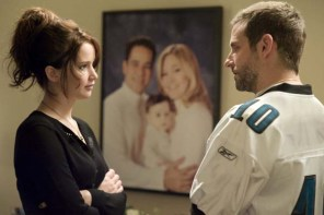 Bradley Cooper et Jennifer Lawrence dans Silver Linings Playbook (2012)