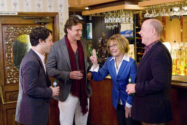 Jane Curtin, Paul Rudd, Jason Segel, et J.K. Simmons dans I Love You, Man (2009)