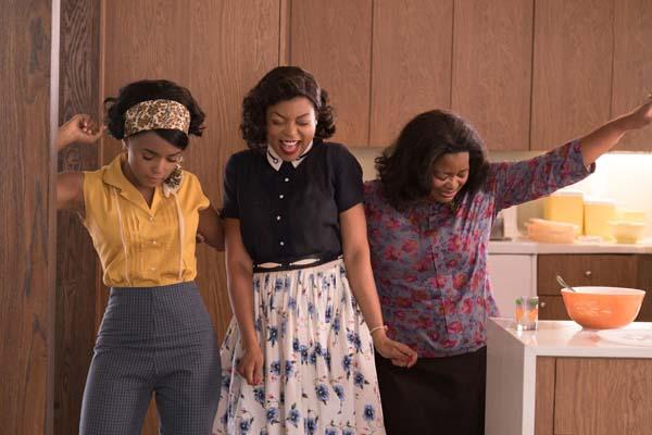 Taraji P. Henson, Octavia Spencer, et Janelle Monáe dans Hidden Figures (2016)