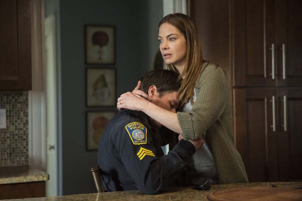 Mark Wahlberg et Michelle Monaghan dans Patriots Day (2016)
