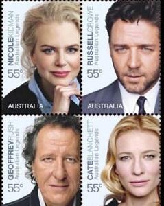 Nicole Kidman, Russell Crowe, Geoffrey Rush, Cate Blanchett