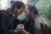 Shin'ya Tsukamoto et Andrew Garfield dans Silence (2016)