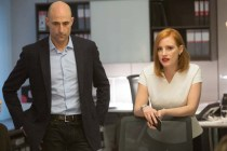 Mark Strong et Jessica Chastain dans Miss Sloane (2016)