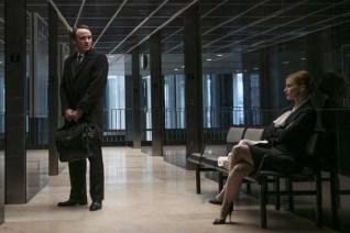David Wilson Barnes et Jessica Chastain dans Miss Sloane (2016)