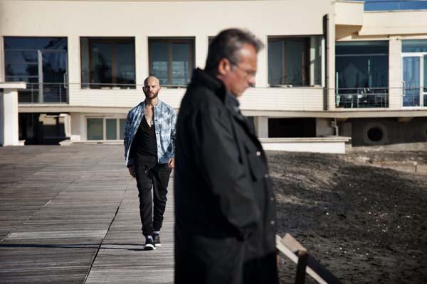 Claudio Amendola et Alessandro Borghi dans Suburra (2015)