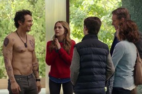 Bryan Cranston, James Franco, et Zoey Deutch dans Why Him? (2016)