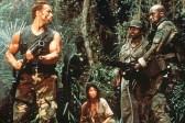 Arnold Schwarzenegger, Carl Weathers, Elpidia Carrillo, et Bill Duke dans Predator (1987)
