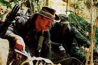 Jesse Ventura et Bill Duke dans Predator (1987)