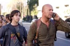 Bruce Willis et Justin Long dans Retour en Enfer (2007)
