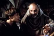 Sean Connery et Christian Slater dans Le Nom de la Rose (1986)