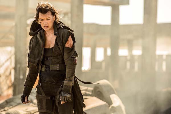 Milla Jovovich dans Resident Evil: The Final Chapter (2016)