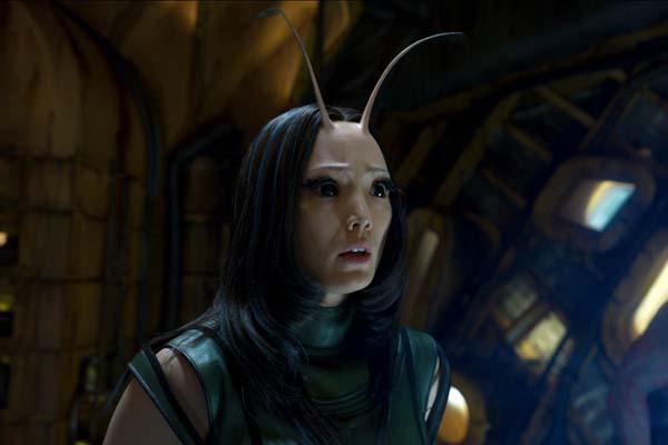 Pom Klementieff dans Les Gardiens de la Galaxie (2017)