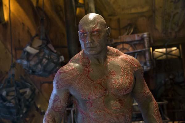 Dave Bautista dans Les Gardiens de la Galaxie 2 (2017)