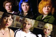 Michael Cera, Brie Larson, Alison Pill, Brandon Routh, Mary Elizabeth Winstead, et Aubrey Plaza dans Scott Pilgrim vs. the World (2010)