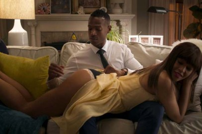 Marlon Wayans et Kali Hawk dans Fifty Shades of Black (2016)