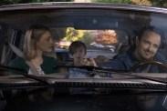 Sarah Gadon, Aaron Paul, et Aiden Longworth dans The 9th Life of Louis Drax (2016)