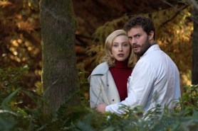 Sarah Gadon et Jamie Dornan dans The 9th Life of Louis Drax (2016)