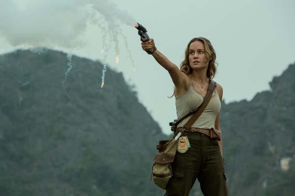 Brie Larson dans Kong: Skull Island (2017)