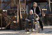 Patrick Stewart et Hugh Jackman dans Logan (2017)