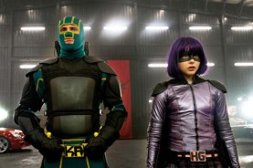 Aaron Taylor-Johnson et Chloë Grace Moretz dans Kick-Ass 2 (2013)
