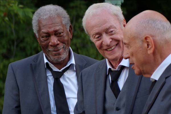 Morgan Freeman, Alan Arkin, et Michael Caine dans Going in Style (2017)